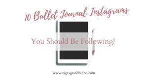 Bullet Journal Instagram, Inspiration, Bullet Journal Ideas