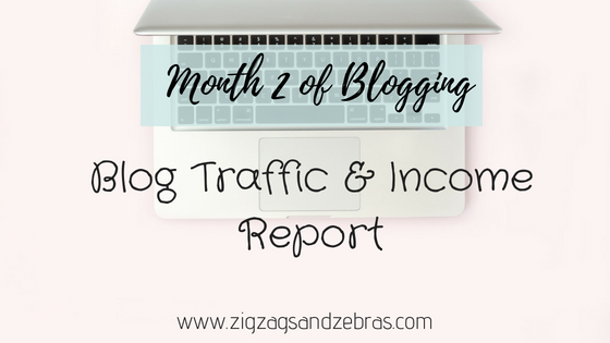 Blog traffic and income report, blogging