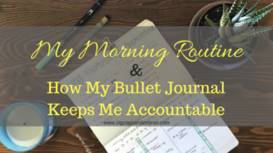Morning Routine Bullet Journal, Bullet Journal Routine