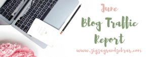 July Blog Traffic Report, Traffic and Income Report, Blogging, New Blogger