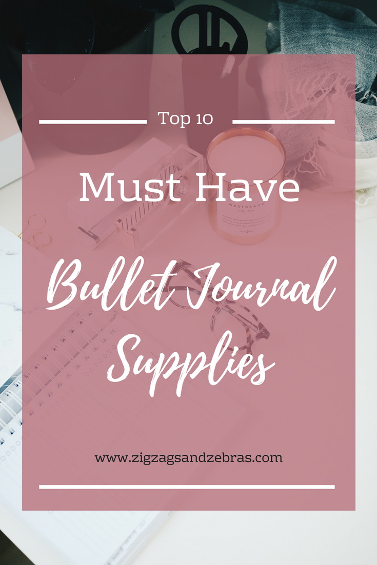 Top Bullet Journal Supplies, Stationery, Bujo, Bullet Journal Pens, Brush Lettering, Journaling, Plan with Me