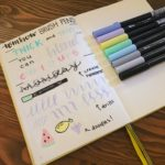 A Review: Tombow Brush Pens