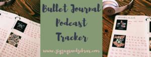 Bullet Journal Podcast Tracker, Series Tracker, Bullet Journal Tracker Ideas, Bullet Journal Collection