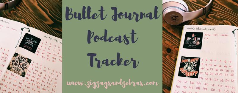 Bullet Journal Podcast Tracker