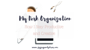 DESK ORGANIZATION | How I Organize My Desk To Stay Productive | Organization tips, organization hacks, office organization, stationery organization