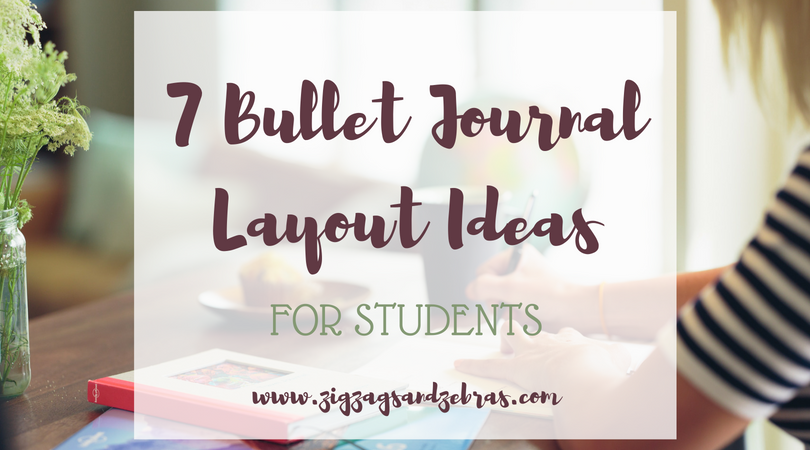 BULLET JOURNAL IDEAS FOR STUDENTS | bullet journal student layouts, university bullet journal, study tracker