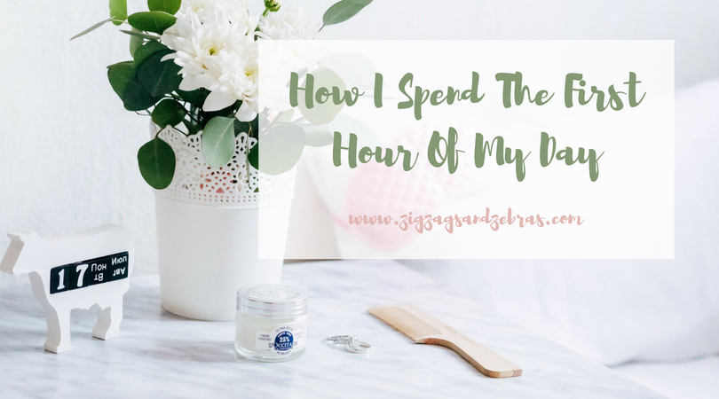 HOW I SPEND THE FIRST HOUR OF MY DAY | Productivity Tips, Time Management, Morning Pages, Productive Morning