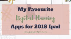 DIGITAL PLANNING APPS | Digital Bullet Journal, iPad Planning, iPad Apps, Goodnotes, Digital Planner