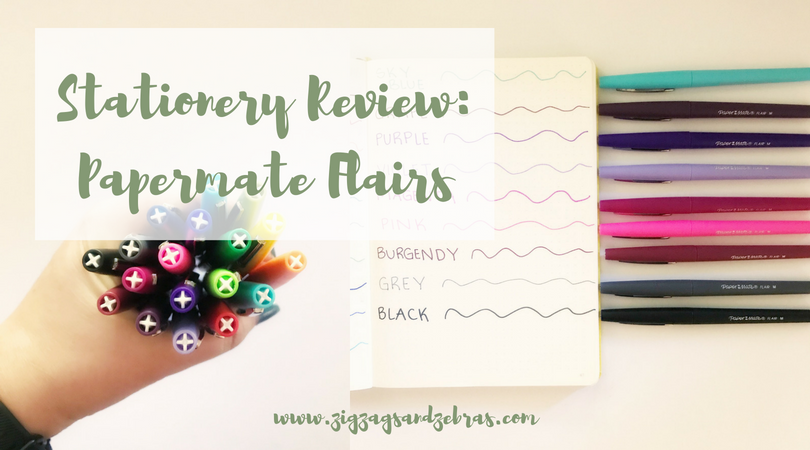 PAPERMATE FLAIR REVIEW | Stationery Review, Bullet Journal Supplies, Stationery Supplies, School Supplies, Pen Test