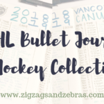 Bullet Journal Hockey Collection