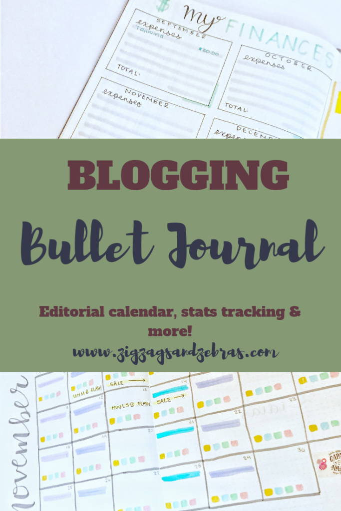 | BLOGGING BULLET JOURNAL | Blog Planner, Blogging Resources, Stats Tracker, Affiliate Marketing, Editorial Calendar, Social Media Marketing, Bullet Journal Ideas