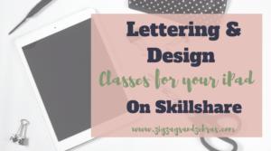 | SKILLSHARE PROCREATE CLASSES | Zigzags & Zebras, Procreate lettering classes, Digital Planning on iPad, iPad illustration