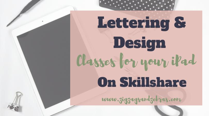   SKILLSHARE PROCREATE CLASSES   Zigzags & Zebras, Procreate lettering classes, Digital Planning on iPad, iPad illustration