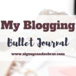 Blogging Bullet Journal