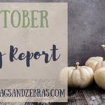 October Blog Report