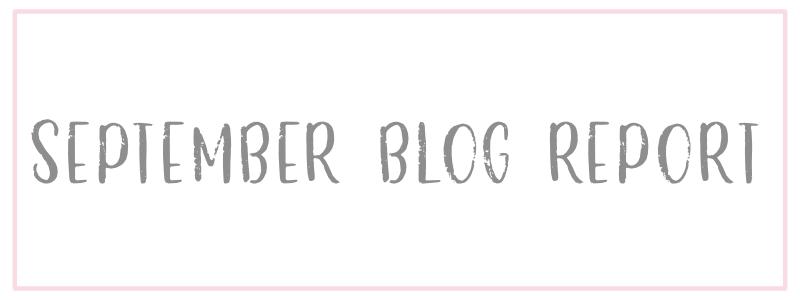 September Blog Traffic Report
