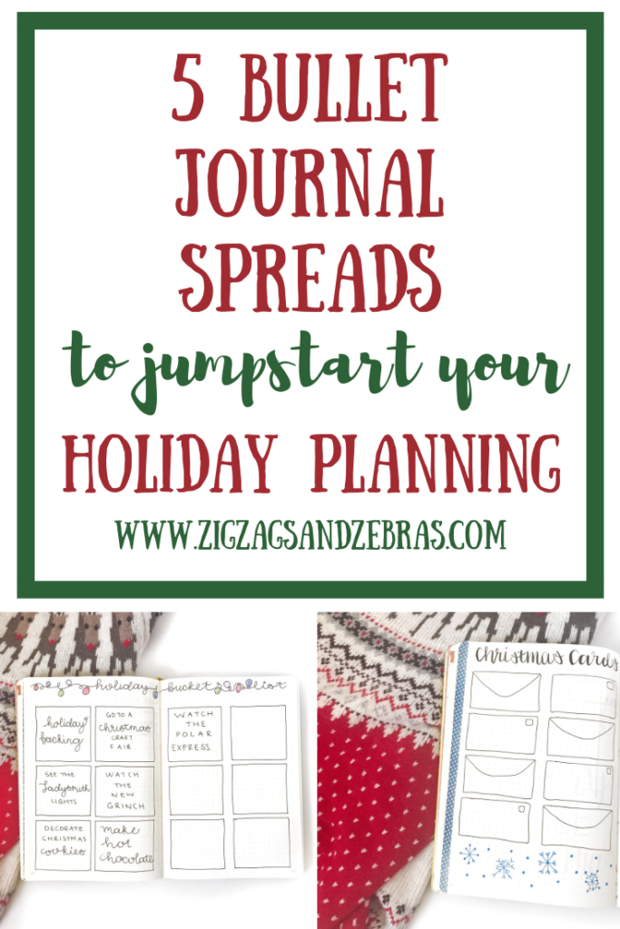 Bullet Journal Holiday Planning, Christmas Planner, Gift Tracker, Wishlist, Holiday Bucket List, Holiday Planner, Christmas Bujo, #christmas #bulletjournal #holiday #bujo #holidaybujo