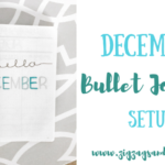 December Bullet Journal Setup, Bullet Journal Monthly Layout, Bullet Journal December, Budget Tracker, Mood Tracker, Habit Tracker, Month at a glance, #bulletjournal