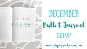 December Bullet Journal Setup, Bullet Journal Monthly Layout, Bullet Journal December, Budget Tracker, Mood Tracker, Habit Tracker, Month at a glance, #bulletjournal