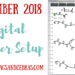 DECEMBER DIGITAL PLANNER SETUP, Digital Planning, Digital Planner Goodnotes, How to Make a Digital Planner, Digital Planner Keynote, Digital Stickers. #digitalplanning #digitalplanner #bulletjourna