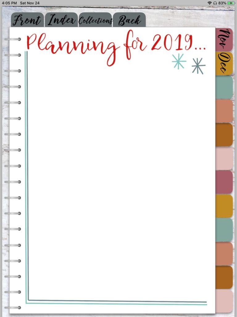 DECEMBER DIGITAL PLANNER SETUP, Digital Planning, Digital Planner Goodnotes, How to Make a Digital Planner, Digital Planner Keynote, Digital Stickers. #digitalplanning #digitalplanner #bulletjourna