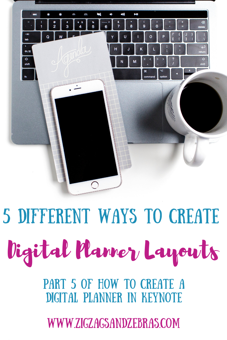 CREATING DIGITAL PLANNER LAYOUTS, How to make a digital planner, how to make a planner, goodnotes planner, digital planning, iPad planner, how to use procreate, how to make a digital planner in keynote. #digitalplanning #digitalplanner