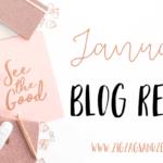 JANUARY BLOG REPORT. Blog & Traffic Report. ZigZags & Zebras. #blogreport #bloggingreport