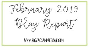 FEBRUARY 2019 BLOG REPORT. Editorial Calendar, Blogging Goals, Social Media Strategy, Top Posts.
