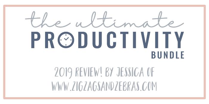 The Ultimate Productivity Bundle Review #ultimateproductivitybundle